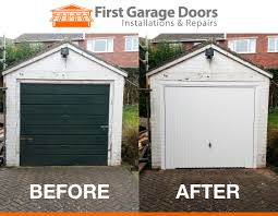 new sectional garage door fitted
