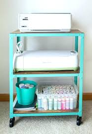 rolling office cart. Rolling Office Cart Storage Carts And Craft Room Printer . T