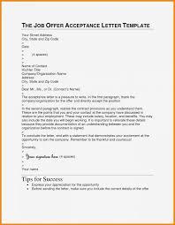 accept a job offer letter sample accept job offer valid accepting job offer letter
