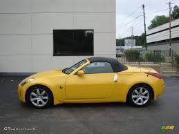2005 Ultra Yellow Metallic Nissan 350Z Touring Roadster #33329630 ...