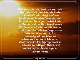 Theodor Fontane Zitat über Kurz Oder Lang Wird Man