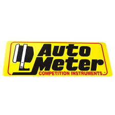 autometer logo. decal, large (16\ autometer logo t