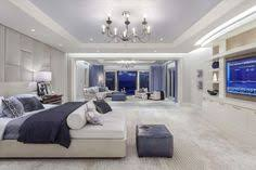 modern luxurious master bedroom. Traditional Master Bedroom With High Ceiling, Carpet, Built-in Bookshelf, Chandelier Modern Luxurious S