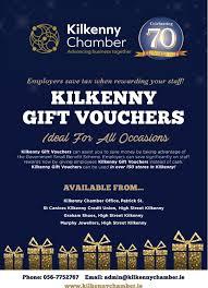 Kilkenny Gift Vouchers Kilkenny Chamber