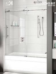 frameless bathtub door elegant glass tub doors page with regard to ideas 14