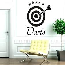 wall decals target darts decal sports removable vinyl stickers self adhesive wallpaper living stripe easy dinosaur