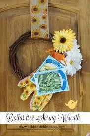 dollar tree spring wreaths for under 10 00