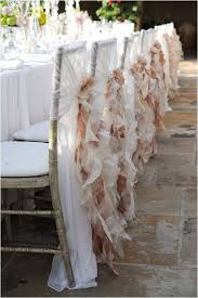 these gorgeous chair covers would be wonderful for a shabby chic wedding i love the