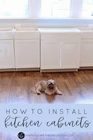 How To Install Kitchen Cabinets Yourself U2014 Elizabeth Burns Design, Raleigh  NC Interior Designer