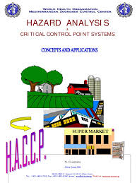 Haccp Book Hazard Analysis And Critical Control Points Foodborne