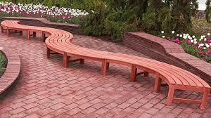Unique Wooden Outdoor Bench Design ideas   Garden Bench Landscaping ideas