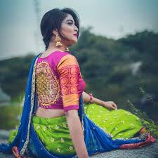 Blue Color Saree Blouse Designs 50 Mind Blowing Blouse Designs For Wedding Silk Sarees