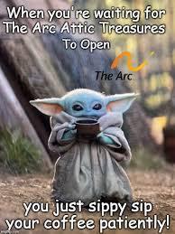 Baby yoda siping soup in 'the mandalorian' is our favorite meme. Baby Yoda Tea Imgflip