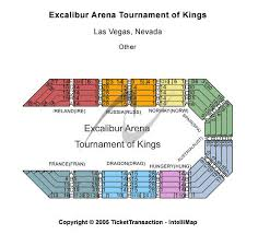 Excalibur Seating Chart Excalibur Arena Excalibur Hotel Casino Seating Chart