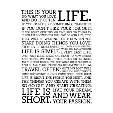 This Is Your Life Quote New Download This Is Your Life Quote Poster Ryancowan Quotes