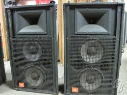 jbl used speakers. jbl sr4731(a) pa speakers [priced per unit - 2 available at time of listing] viewed 938 times jbl used speakers e