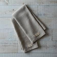 heirloomed linen tea towels set of 2