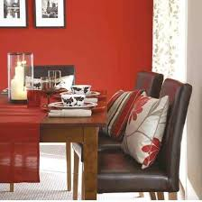 red room furniture. red dining room love the accent pillows and table runner furniture