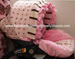 baby girl is due in just 5 weeks and i can t wait to bring her home with this boutique car seat cover i always cringed when people would mention isabella