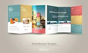 Quad Fold Brochure Template Word Folded Flyer Template Fold Brochure Design Business Template