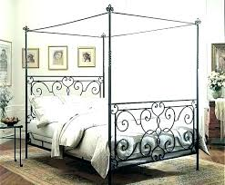 iron canopy bed king – phipack.co