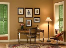 home office paint ideas. Office Paint Color Ideas Home With Brown Wall Interior Scheme . O