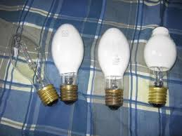 the lighting collection. My Collection Of Mercury Vapor Light Bulbs. All Are 100 Watts. From Left To Right: Phillips Clear Lamp, Deluxe White, The Lighting C