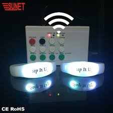 Light Up Radio 2020 Christmas Party Light Up Concert Rfid Remote Radio Control Led Wristband Buy Led Wristband Radio Controlled Led Wristband Remote Control Led