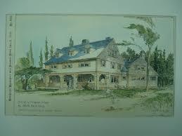 David Rice House Marion Massachusetts 1894 Arthur Wallace | Etsy