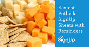 Easy Sign Up Sheet Free Easy Potluck Sign Up Sheets With Reminder Emails Signup Com