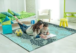 plastic rug for dining room new sapana mats motif blue grey plastic floor mat