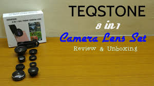 TEQSTONE <b>8-in-1</b> Clip-On <b>Cell</b> Phone Camera Lens Kit - Review ...