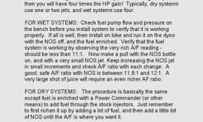 37 Hand Picked Nos Nitrous Jet Chart