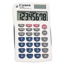 Financial Calculator Canon Ls 330h Portable Financial Calculator