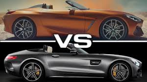 2018 bmw amg. fine amg 2018 bmw z4 concept vs mercedes amg gt c roadster with bmw amg