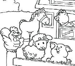 Free Printable Pictures Of Farm Animals Sheep For Coloring Free