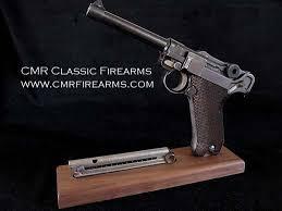 Handgun Display Stand CMR Classic Firearms Display Stand Luger PistolRef100D 87