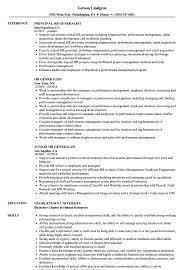 Hr Generalist Resume Samples Velvet Jobs Human Resources Functional