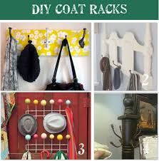 Diy Kids Coat Rack Awesome 32 DIY Coat Rack Ideas Tip Junkie