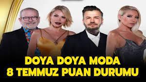 Doya Doya Moda All Star elenen oldu mu, kim birinci oldu? Doya Doya Moda 8  Temmuz puan durumu nasıl?