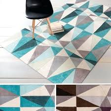 geometric rugs hand tufted contemporary rug 8 x from extra large uk geometric rugs