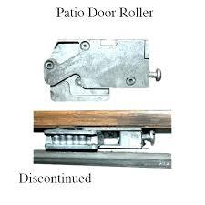 sliding glass door wheels pella roller adjustment