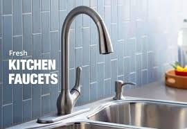 Decorating Stunning Delta Faucets Lowes For Kitchen Or Bathroom Kitchen Sink Handle Replacement
