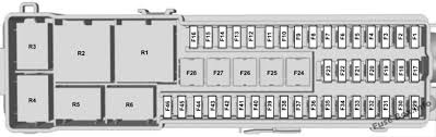 ford escape 2013 2018 < fuse box diagram fuse box diagram luggage compartment