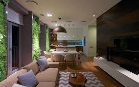 apartment design. Beautiful Design Modern Apartment At Night With Apartment Design