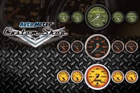 Autometer Gauge Light Create Your Own Gauges In The Autometer Custom Shop