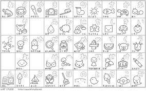 Rigorous Hiragana Mnemonic Chart Katakana Chart Worksheet