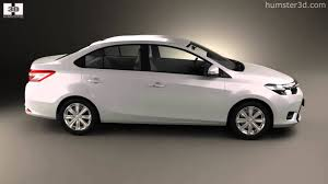 Toyota Yaris sedan 2014 by 3D model store Humster3D.com - YouTube