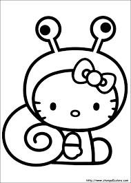 Disegni Di Hello Kitty Da Colorare