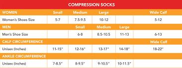 Compression Socks Chart Vim Vigr 15 20 Mmhg Womens Stylish Compression Socks Nylon In Cream Crimson Stripe